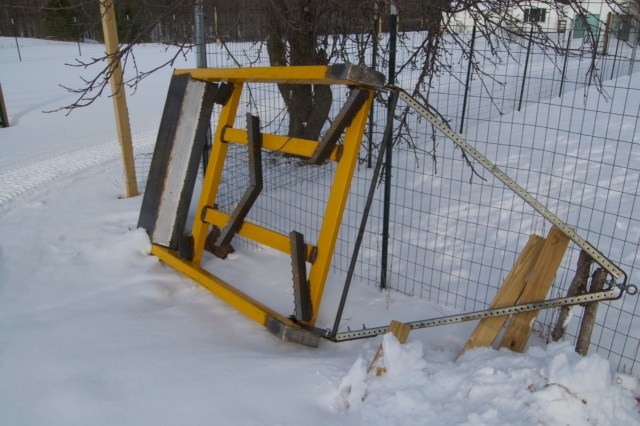 how to build a snow drag