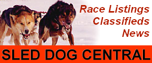 Sled Dog Central...your information source.